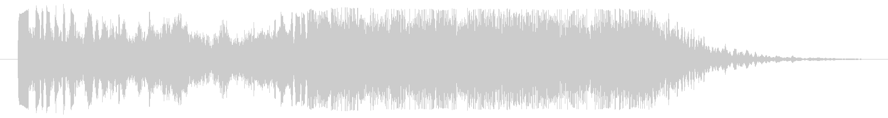 クールなハイクオリティージングル_2の未再生の波形