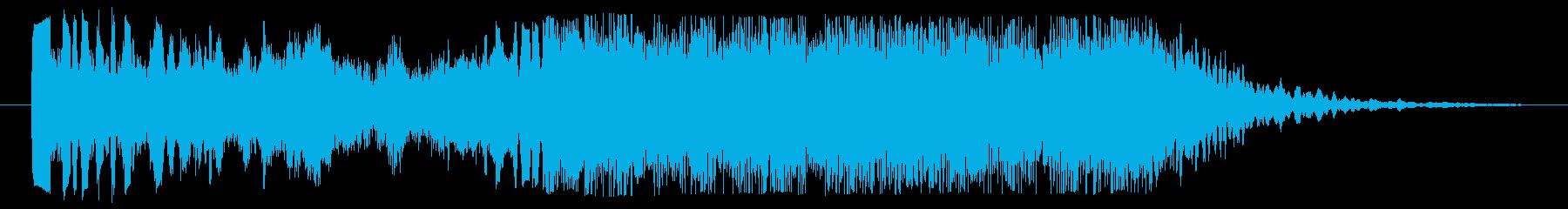 クールなハイクオリティージングル_2の再生済みの波形
