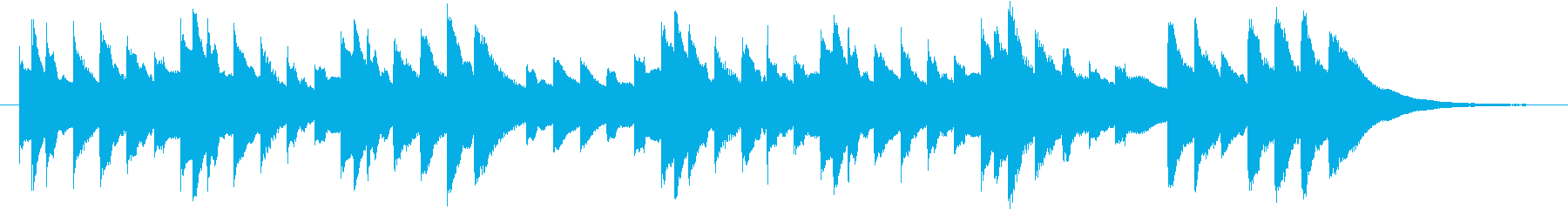 結婚式BGM_プレゼント02の再生済みの波形