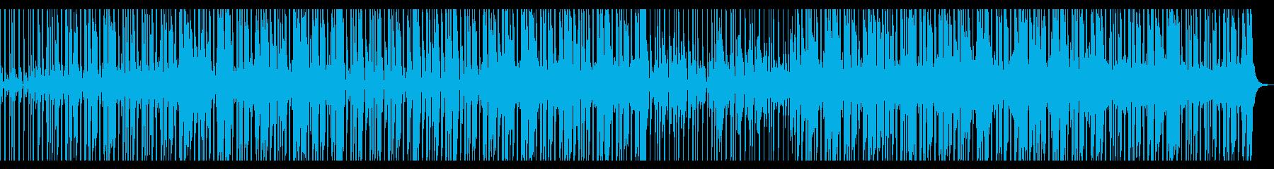【短いVer3】スローファンクロックの再生済みの波形