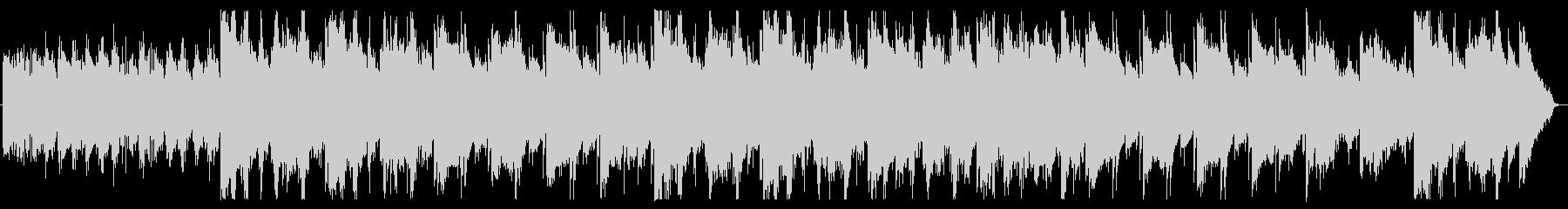 マリンバの包み込むような優しい音色の未再生の波形