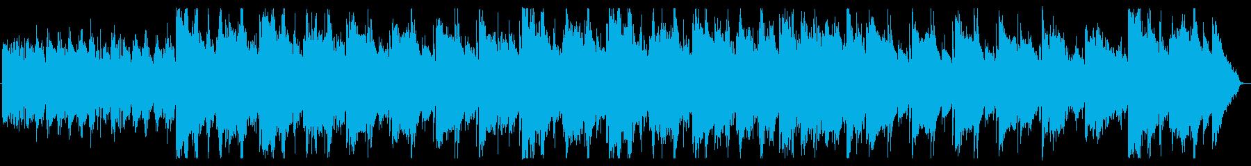 マリンバの包み込むような優しい音色の再生済みの波形