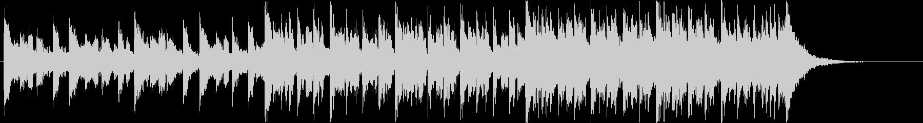 シンセサイザー、ピアノ、ベース、パ...の未再生の波形