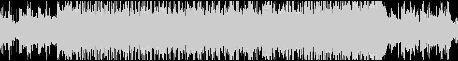 ド迫力な和風エピックBGM ループの未再生の波形