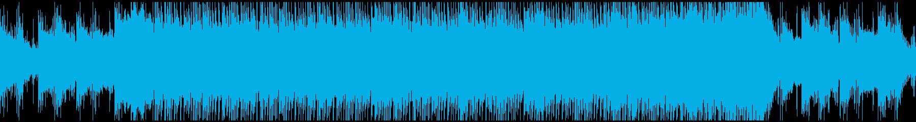 ド迫力な和風エピックBGM ループの再生済みの波形