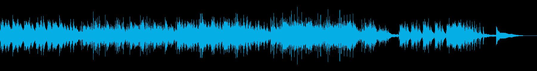 静かな感動アンビエントの再生済みの波形