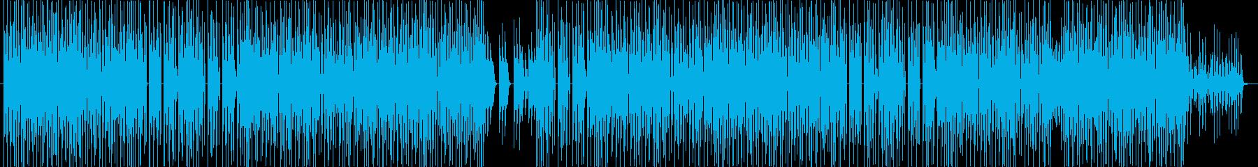 ヒップホップ、クラブ、洋楽トラック♪の再生済みの波形