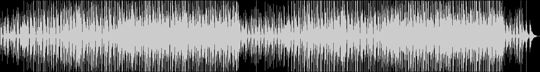 幸せな明るいフォークミュージックの未再生の波形