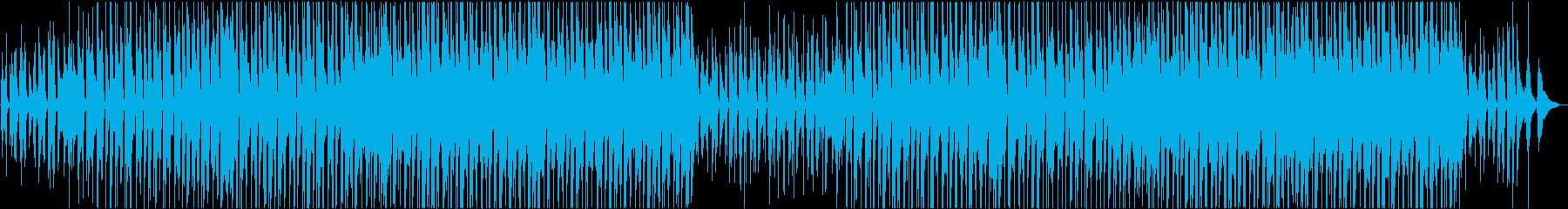 幸せな明るいフォークミュージックの再生済みの波形