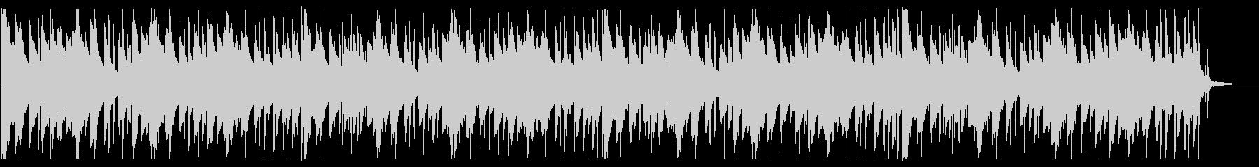 落ち着いたピコピコとしたBGM_5の未再生の波形