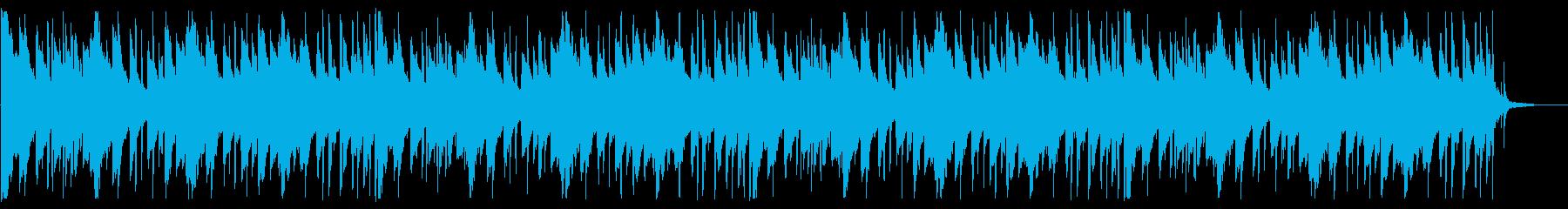 落ち着いたピコピコとしたBGM_5の再生済みの波形