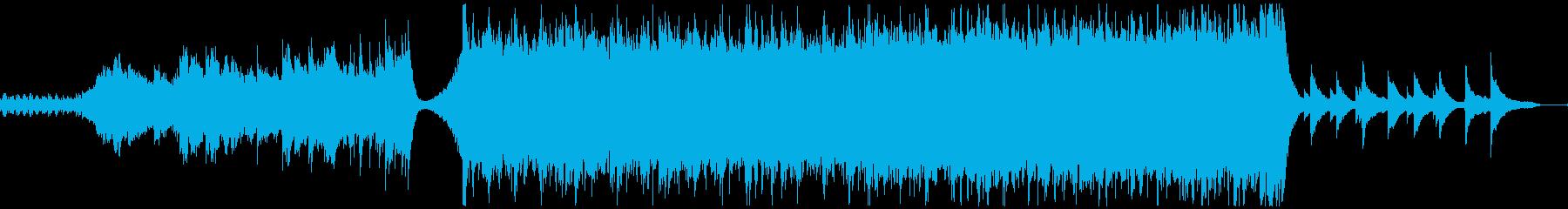【予告編】トレーラー・シネマティックの再生済みの波形