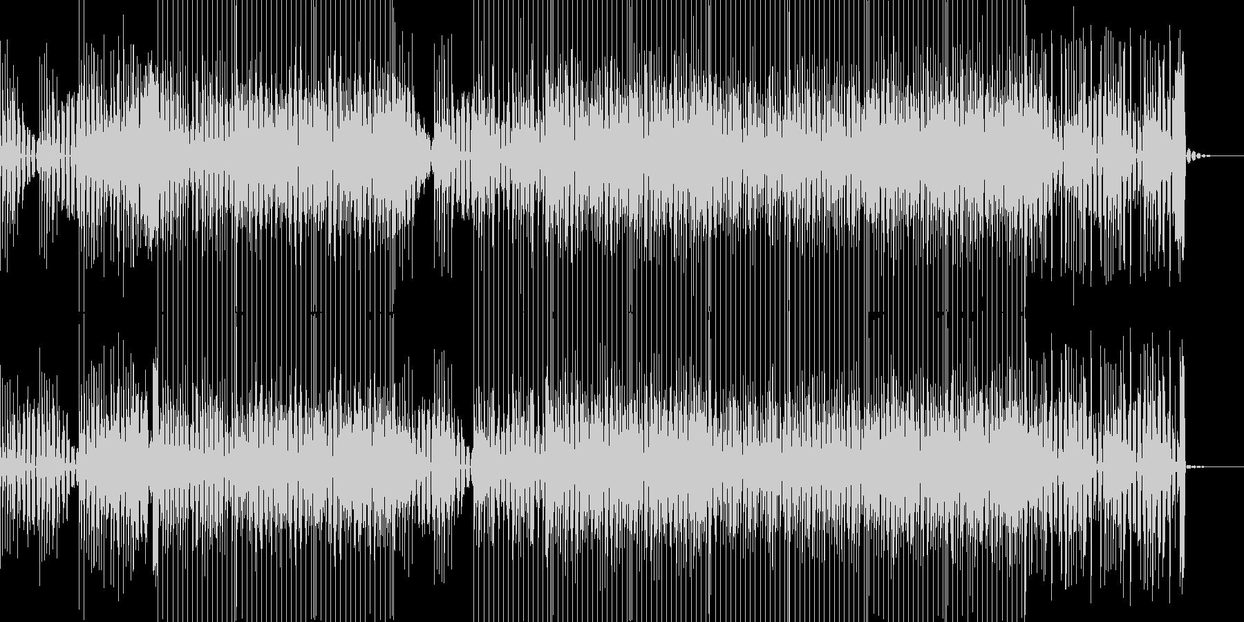 弾けるKawaii系POPSの未再生の波形