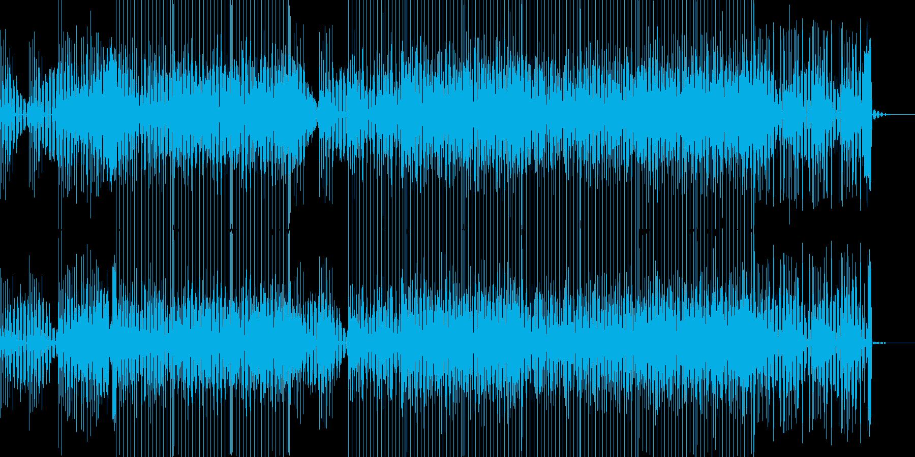 弾けるKawaii系POPSの再生済みの波形