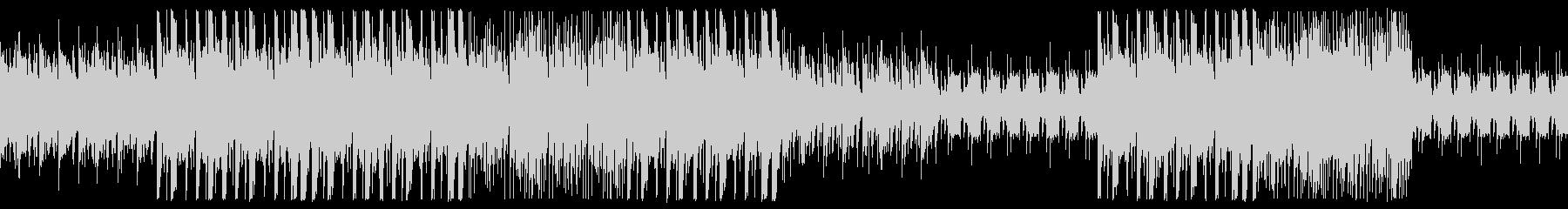 クールなTRAP風BGMの未再生の波形