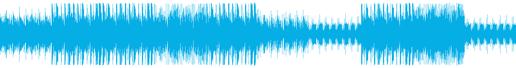クールなTRAP風BGMの再生済みの波形