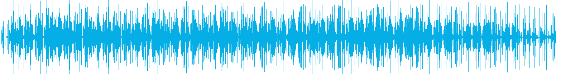 おしゃれでゆったりなギターが特徴のBGMの再生済みの波形