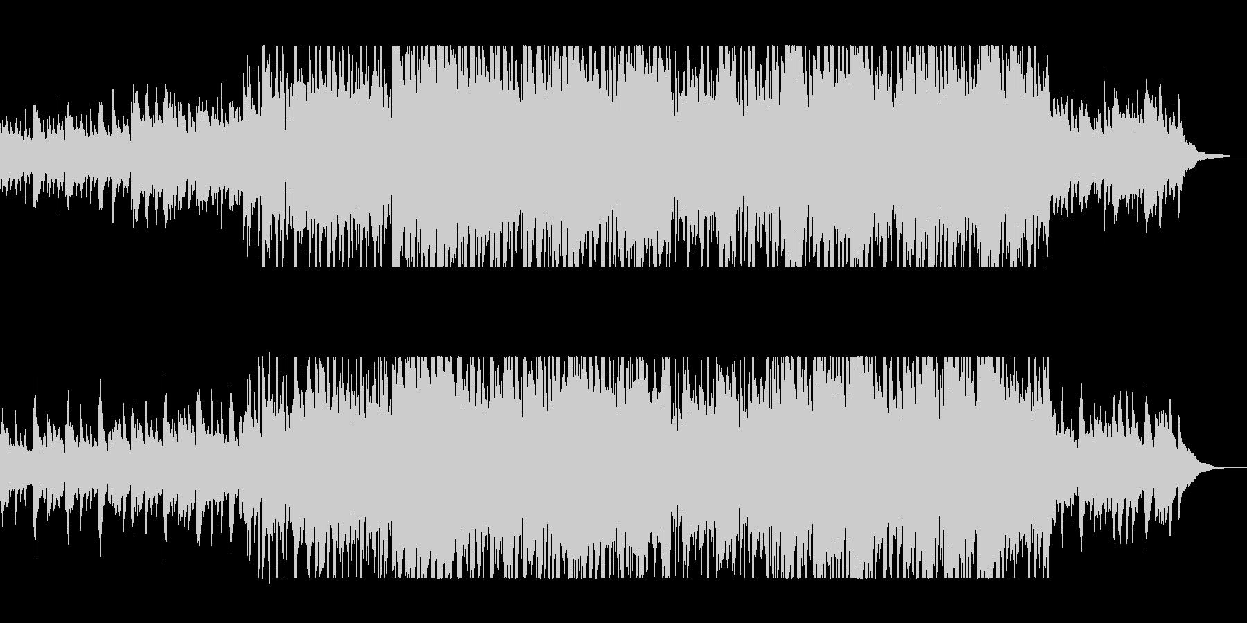 ハープの流れるようなサウンドの未再生の波形