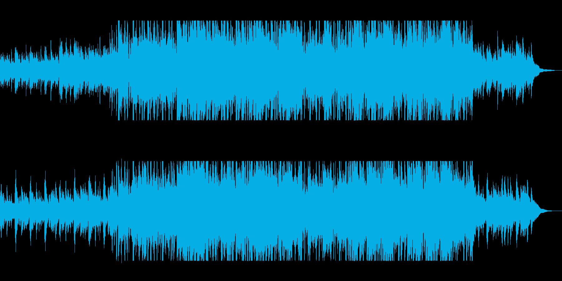 ハープの流れるようなサウンドの再生済みの波形