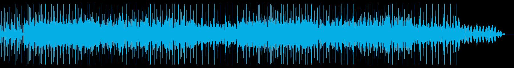 透明感、壮大感アンビエント02の再生済みの波形