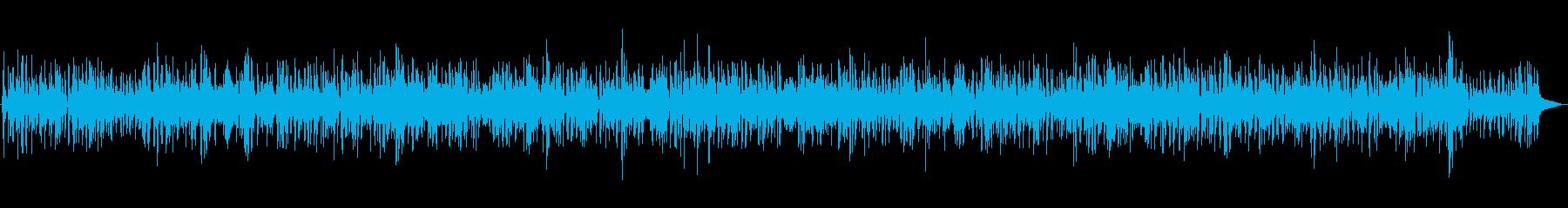 ピアノの優しく穏やかなジャズBGMの再生済みの波形