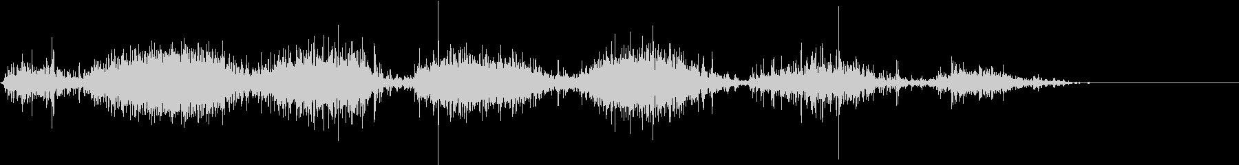 【生録音】米粒(生米)を取り出す音 3の未再生の波形