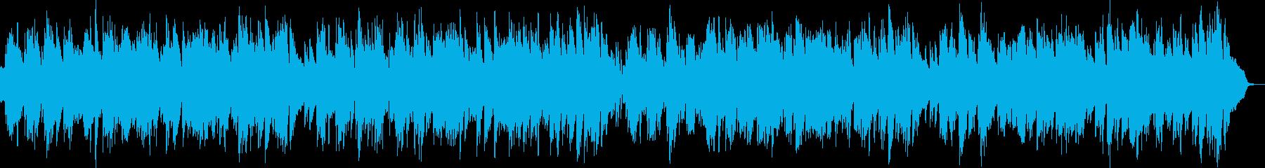 2台のピアノ生演奏ハッピーな変則ブルースの再生済みの波形