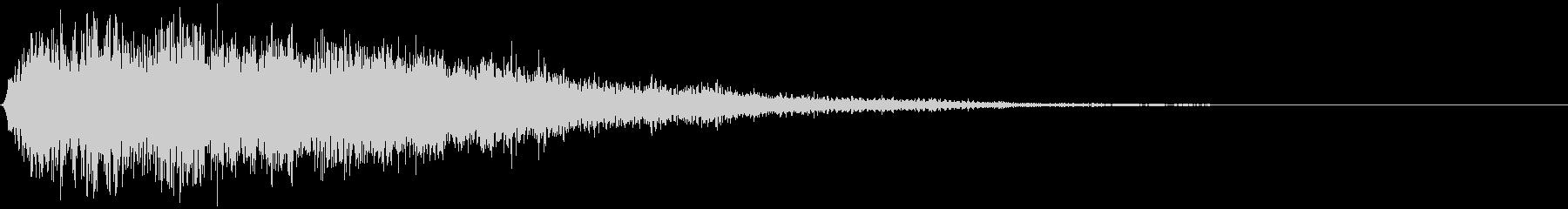 ホラー系のインパクト音_ブワーンッ・・・の未再生の波形