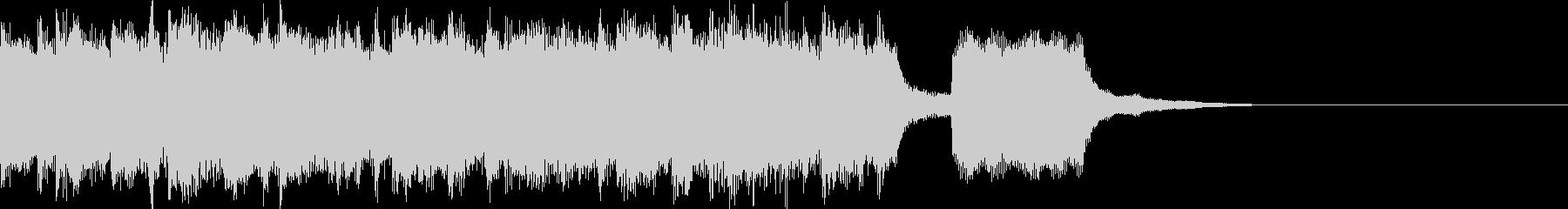 ほのぼのカワイイシンセポップジングルの未再生の波形