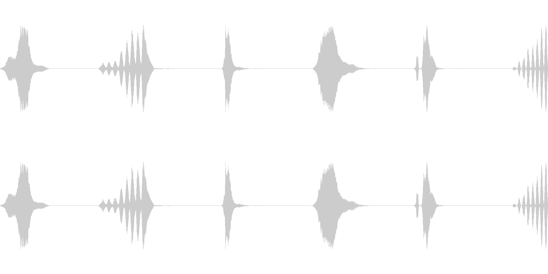 whiの風マルチwavの未再生の波形