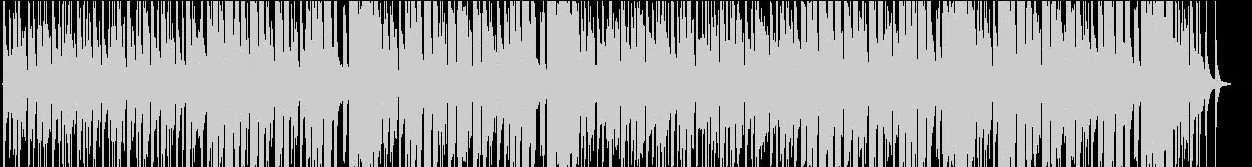 ウクレレと口笛が印象的な明るいBGMの未再生の波形