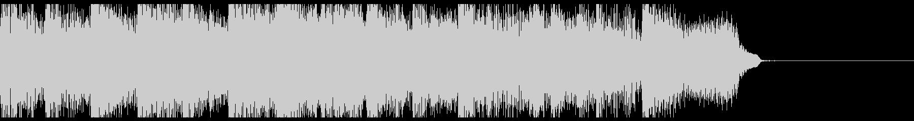 ハイケンスのセレナーデのサウドロゴの未再生の波形
