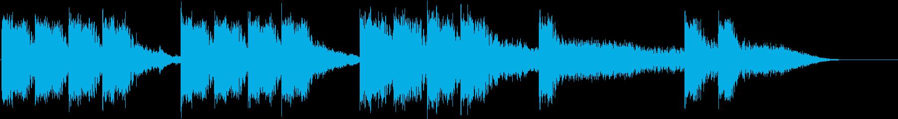 インパクト系15secインストです。の再生済みの波形