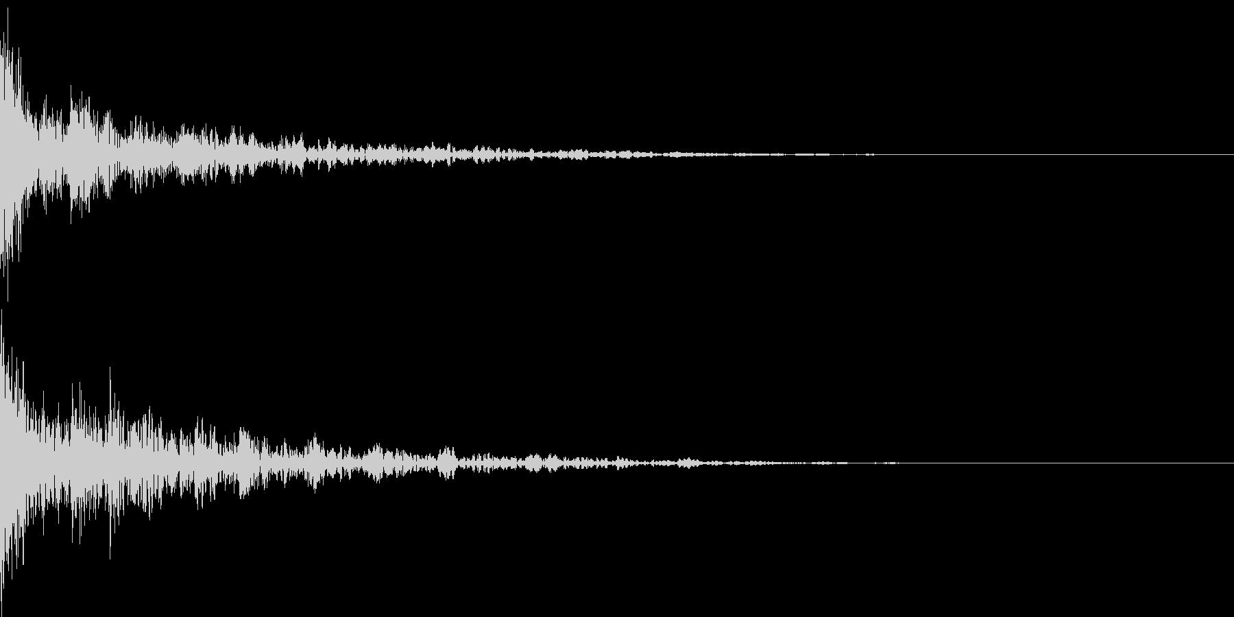 ドーン-44-2(インパクト音)の未再生の波形