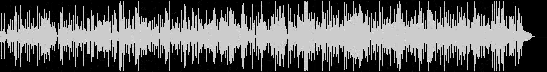 ほのぼのJAZZのBGM トリオ ピアノの未再生の波形