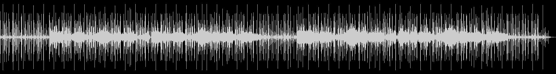 心の落ち着くシンセのチル・ヒップホップの未再生の波形