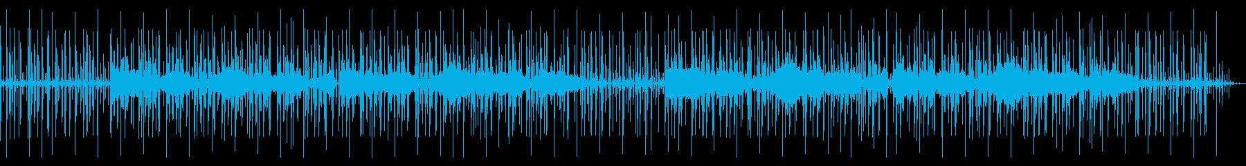 心の落ち着くシンセのチル・ヒップホップの再生済みの波形