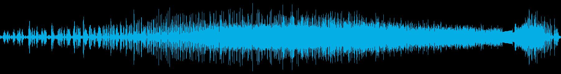 MP-1ハーモニックアセンディングトーンの再生済みの波形