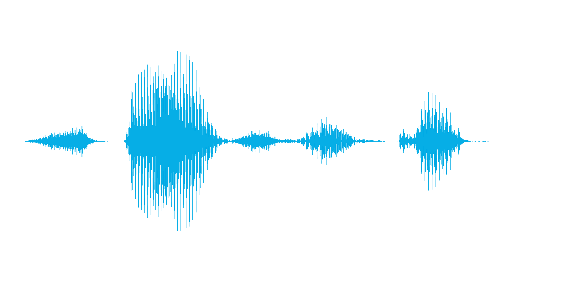 ステージ6(ろく)の再生済みの波形