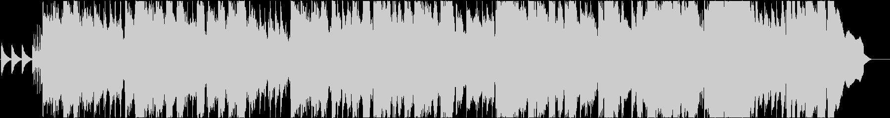 90年代JーPOP風BGM/エレキギターの未再生の波形