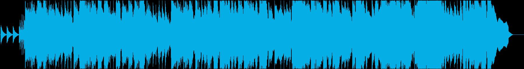 90年代JーPOP風BGM/エレキギターの再生済みの波形