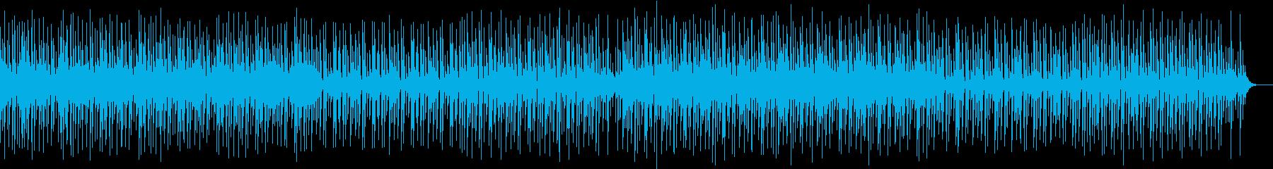 YouTube・おしゃれかわいいEDMの再生済みの波形