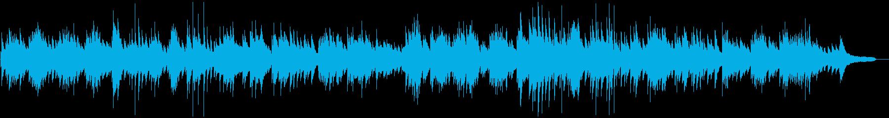 ほんの少し和を感じる癒し系ピアノソロの再生済みの波形