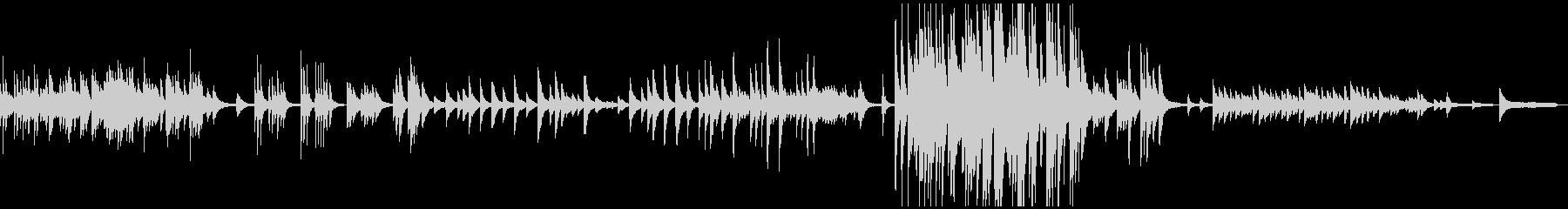 3:25/しんみりと暖かく優しいピアノ曲の未再生の波形