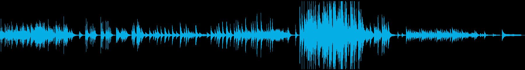 3:25/しんみりと暖かく優しいピアノ曲の再生済みの波形