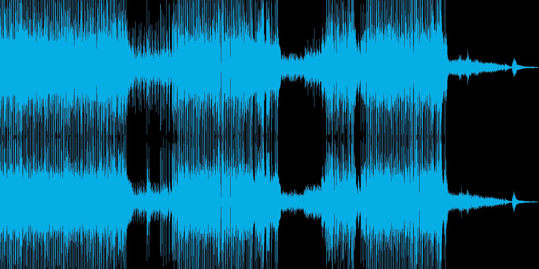 ギター・涼しげなポップス ドラム・短尺★の再生済みの波形