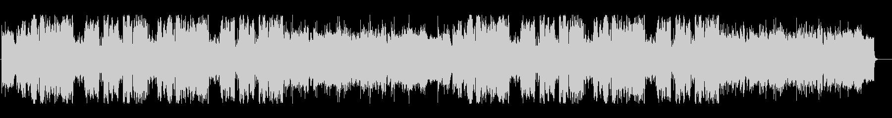 トランペットとアコギの牧歌的な三拍子の曲の未再生の波形