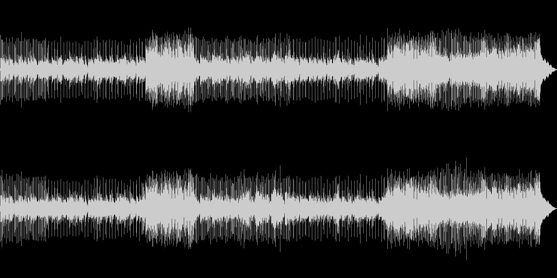 スローなフォーク調ポップの未再生の波形
