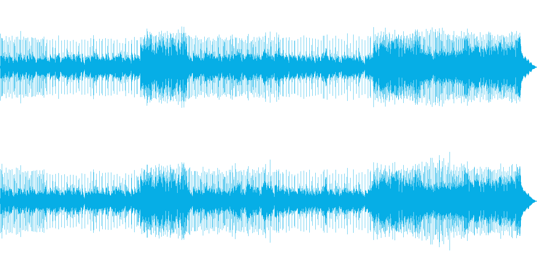 スローなフォーク調ポップの再生済みの波形