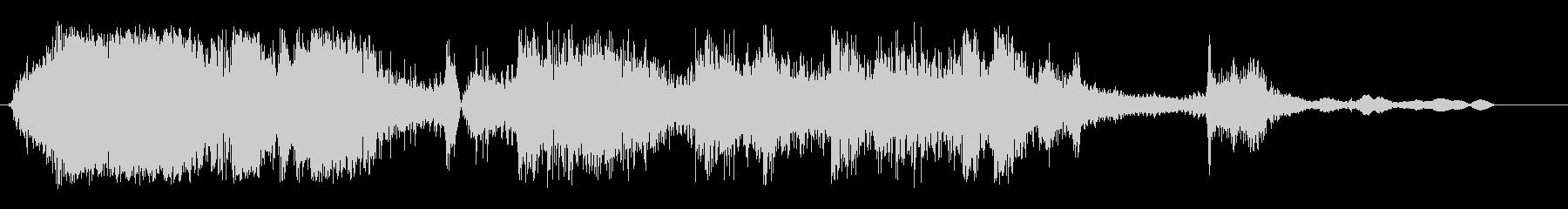 ガチャーンガンガラガン(物が壊れ散乱)の未再生の波形